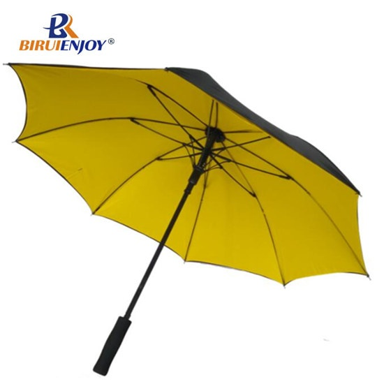 yellow umbrella full fiber frame, 24inch