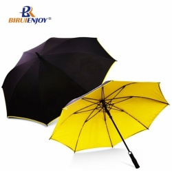 Fashion golf umbrella with design all over imprint