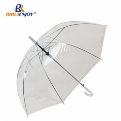 transparent umbrella 24 inch bubble parasol with pvc
