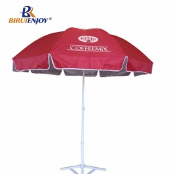 2m sun umbrella with 210D oxford silver inside