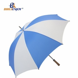 Windproof sport umbrella 64 inch blue