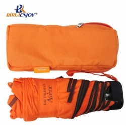 5 folding case mini umbrella promotional