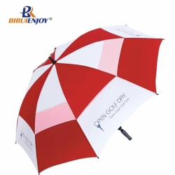 Promotional golf umbrella double layer with logo