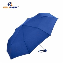 3 folding umbrella aluminum cyan