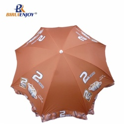 Promotional beach umbrella of super lemon tea for Myanmar