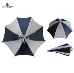 12 inch Safety head umbrella fishing/hiking/camping