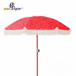 Fashion seaside umbrella sun parasol all over imprint