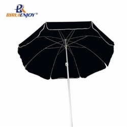 Arc 180cm promotional beach umbrella with flap