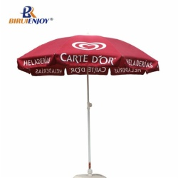 Arc 200cm large sun umbrella with silver inside